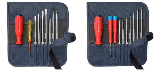 Tool-sets, roll-up cases